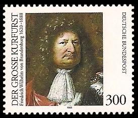 300 Pf Briefmarke: Der Große Kurfürst