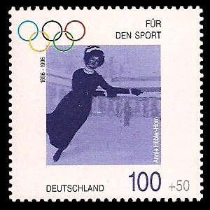 100 + 50 Pf Briefmarke: Für den Sport 1996, 100 Jahre Olympische Spiele