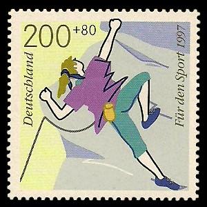 200 + 80 Pf Briefmarke: Für den Sport 1997, Spaßsportarten