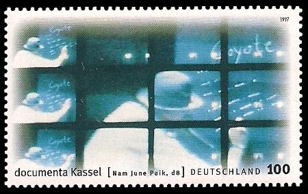 100 Pf Briefmarke: documenta Kassel