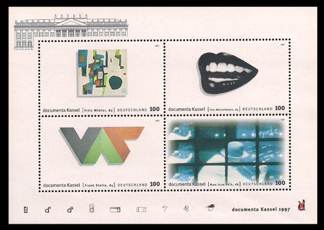 Briefmarke: Blockausgabe: documenta Kassel