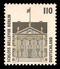 110 Pf Briefmarke: Serie Sehenswürdigkeiten