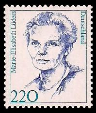220 Pf Briefmarke: Frauen der deutschen Geschichte