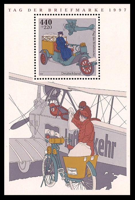 Briefmarke: Blockausgabe: Tag der Briefmarke