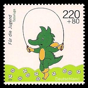 220 + 80 Pf Briefmarke: Für die Jugend 1999, Kinderfernsehen