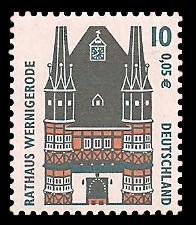 10 Pf / 0,05 € Briefmarke: Serie Sehenswürdigkeiten