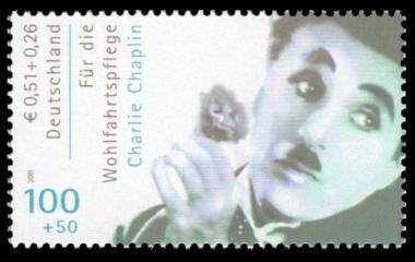 100 + 50 Pf / 0,51 + 0,26 € Briefmarke: Wohlfahrtsmarke 2001, Schauspieler