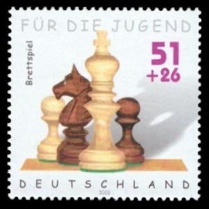 51 + 26 Ct Briefmarke: Für die Jugend 2002, Spielzeug