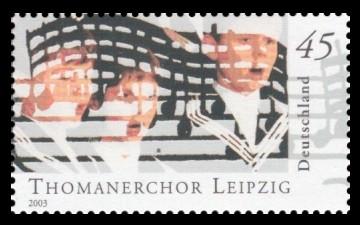 45 Ct Briefmarke: Berühmte Knabenchöre