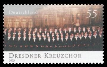 55 Ct Briefmarke: Berühmte Knabenchöre