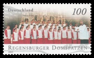 100 Ct Briefmarke: Berühmte Knabenchöre