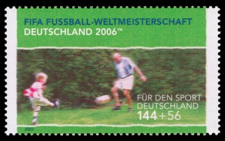 144 + 56 Ct Briefmarke: Für den Sport 2003, Jung und Alt