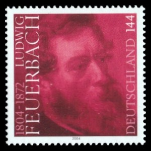 144 Ct Briefmarke: 200. Geburtstag Ludwig Feuerbach