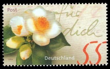 55 Ct Briefmarke: Serie Post, für dich