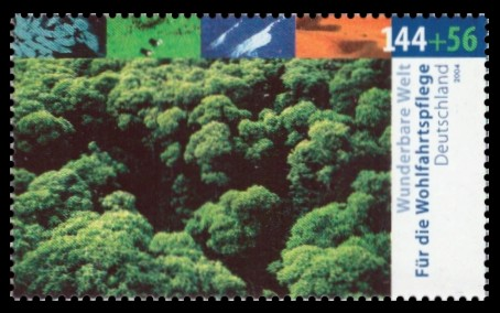 144 + 56 Ct Briefmarke: Wohlfahrtsmarke 2004, Wunderbare Welt