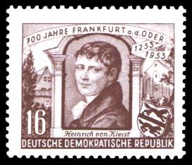 16 Pf Briefmarke: 700 Jahre Frankfurt an der Oder