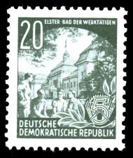 20 Pf Briefmarke: Fünfjahresplan