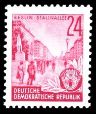 24 Pf Briefmarke: Fünfjahresplan