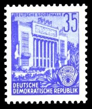 35 Pf Briefmarke: Fünfjahresplan