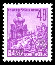 48 Pf Briefmarke: Fünfjahresplan