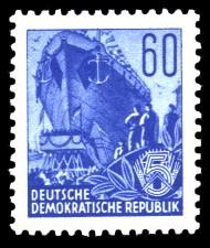 60 Pf Briefmarke: Fünfjahresplan