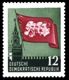12 Pf Briefmarke: Karl Marx Jahr