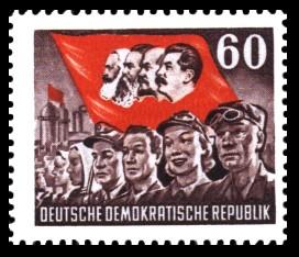 60 Pf Briefmarke: Karl Marx Jahr