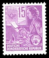 15 Pf Briefmarke: 2.Ausgabe Fünfjahresplan