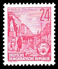 24 Pf Briefmarke: 2.Ausgabe Fünfjahresplan