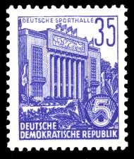 35 Pf Briefmarke: 2.Ausgabe Fünfjahresplan
