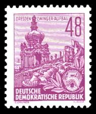 48 Pf Briefmarke: 2.Ausgabe Fünfjahresplan