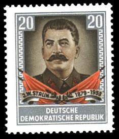 20 Pf Briefmarke: 1.Todestag von J.W.Stalin