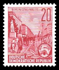 20 Pf Briefmarke: Freimarke Fünfjahresplan