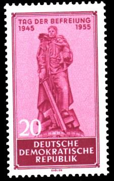 20 Pf Briefmarke: Tag der Befreiung vom Faschismus