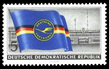 5 Pf Briefmarke: Deutsche Lufthansa
