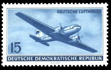 15 Pf Briefmarke: Deutsche Lufthansa