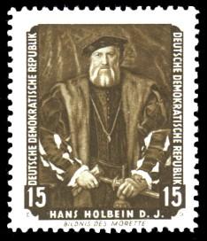 15 Pf Briefmarke: Dresdner Gemäldegalerie