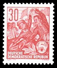 30 Pf Briefmarke: Freimarke Fünfjahresplan