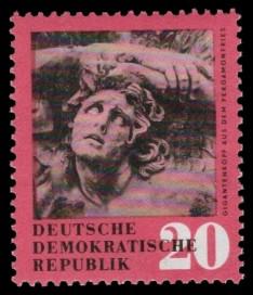 20 Pf Briefmarke: antike Kunstschätze