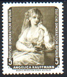 5 Pf Briefmarke: Gemälde, Dresdner Gemäldegalerie