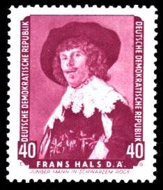 40 Pf Briefmarke: Gemälde, Dresdner Gemäldegalerie
