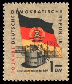 1 DM Briefmarke: 10 Jahre DDR