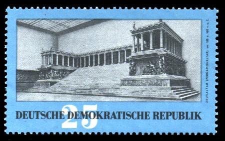 25 Pf Briefmarke: Antike Kunstschätze