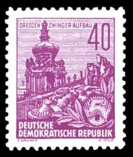 40 Pf Briefmarke: Freimarke Fünfjahresplan