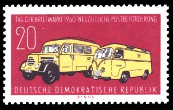 20 Pf Briefmarke: Tag der Briefmarke 1960