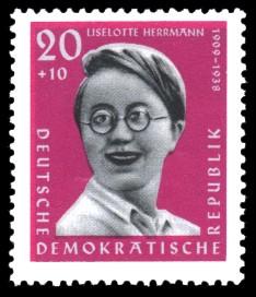 Antifaschisten, <b>Liselotte Herrmann</b> - ddr61046