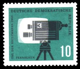 10 Pf Briefmarke: Tag der Briefmarke 1961