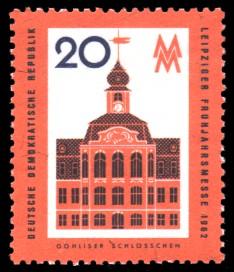 20 Pf Briefmarke: Leipziger Frühjahrsmesse 1962