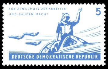 5 Pf Briefmarke: 6 Jahre NVA