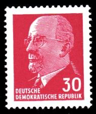 30 Pf Briefmarke: Walter Ulbricht